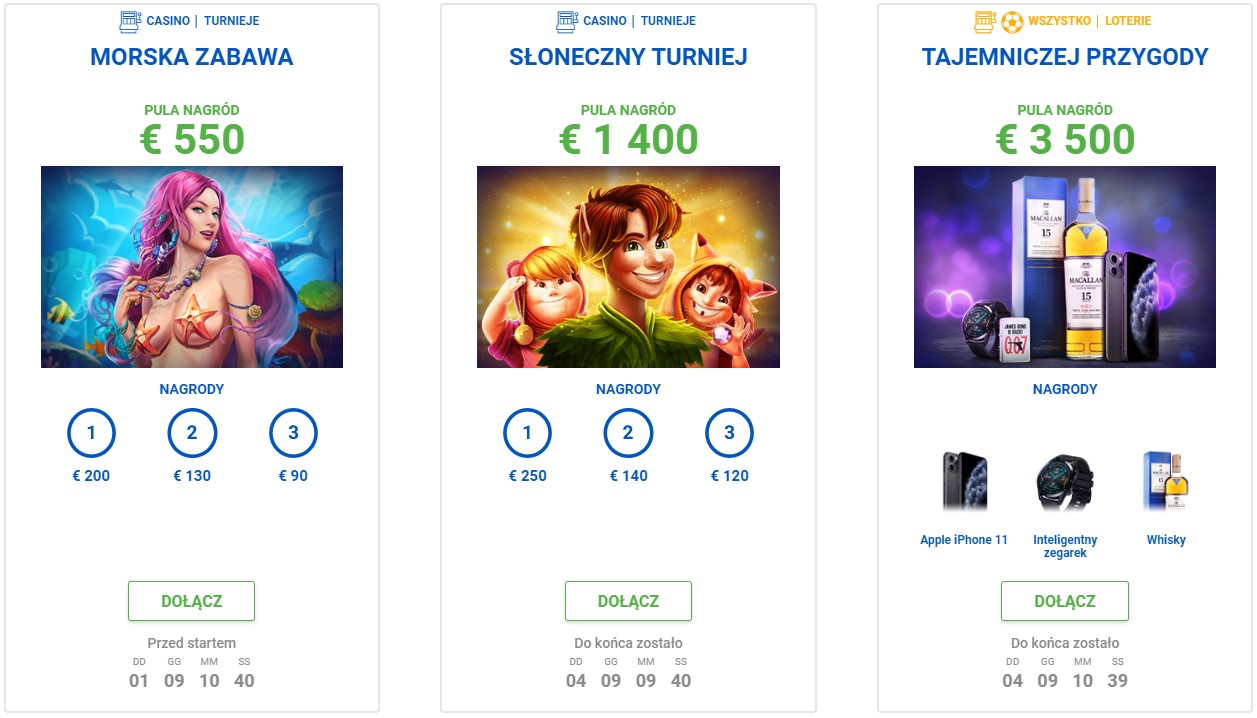 Slottica Kasyno Bonusy
